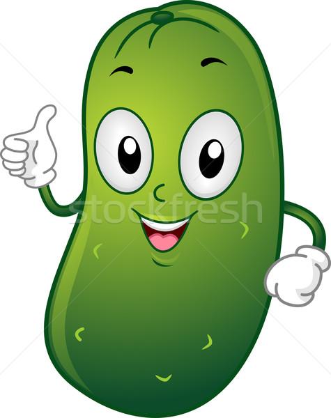 Pickle Mascot Stock photo © lenm