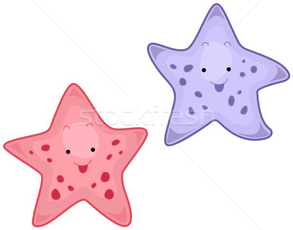 Starfish Stock photo © lenm