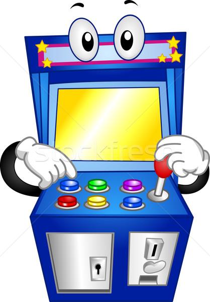 Arcade Game Mascot Stock photo © lenm