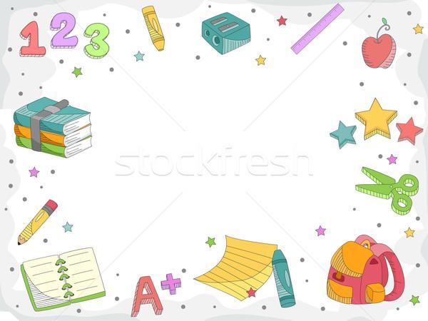 Education Doodle Stock photo © lenm