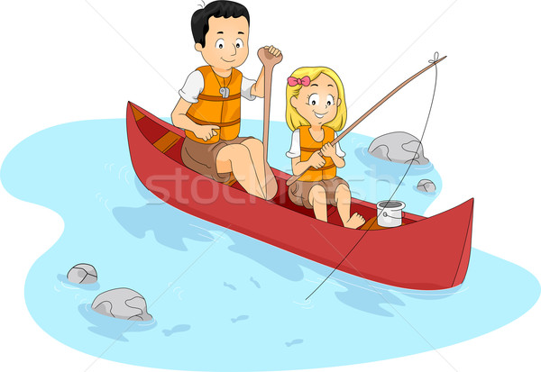 Fishing Camp Vector Illustration 169 Lenm 1238824