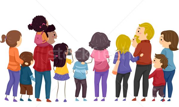 Family Day Stock photo © lenm