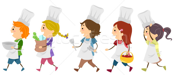 Stock photo: Cooking Kids