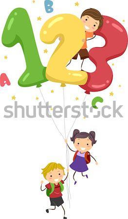 Família arco-íris deslizar ilustração mulher menina Foto stock © lenm