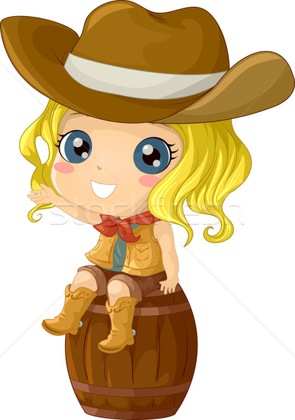Cowgirl Costume Stock photo © lenm