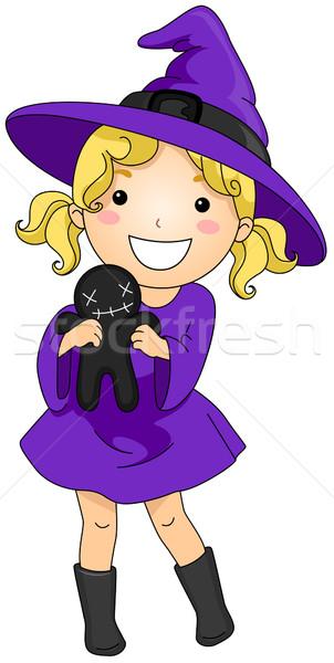 Stock photo: Female Witch