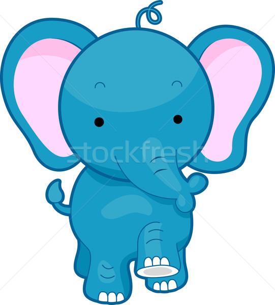 Elephant Stock photo © lenm