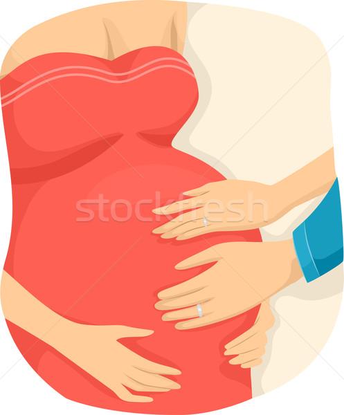 Surrogate Mother Stock photo © lenm