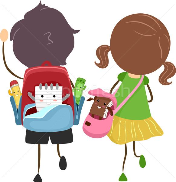School Bags Stock photo © lenm