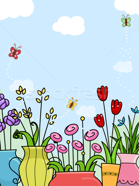Flowers Background Stock photo © lenm