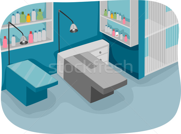 Clinic Interior Stock photo © lenm
