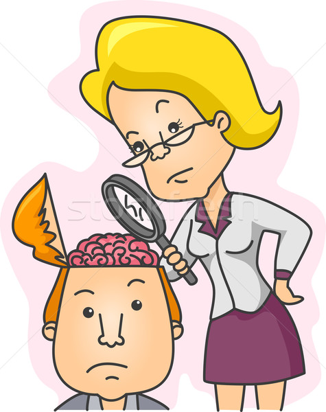 IQ and Personality Test Stock photo © lenm