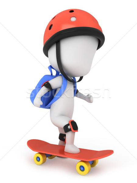 Skateboarder Stock photo © lenm