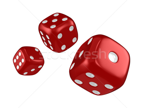 Dice Stock photo © lenm