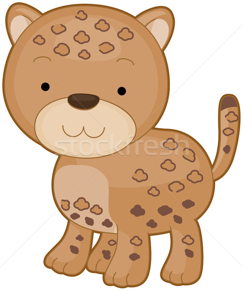 Leopard Stock photo © lenm