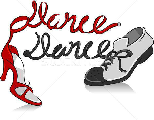 Dancing Shoes Stock photo © lenm