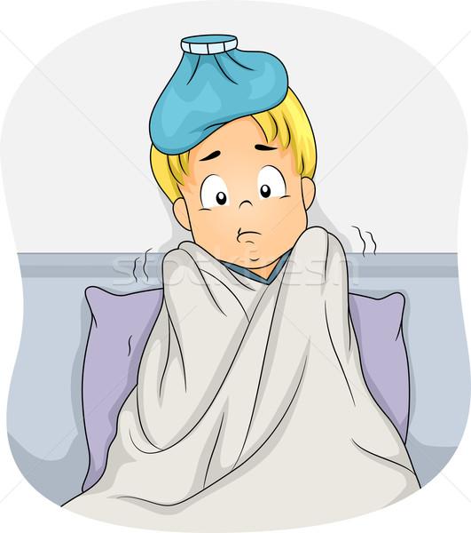 Stock photo: Sick Boy