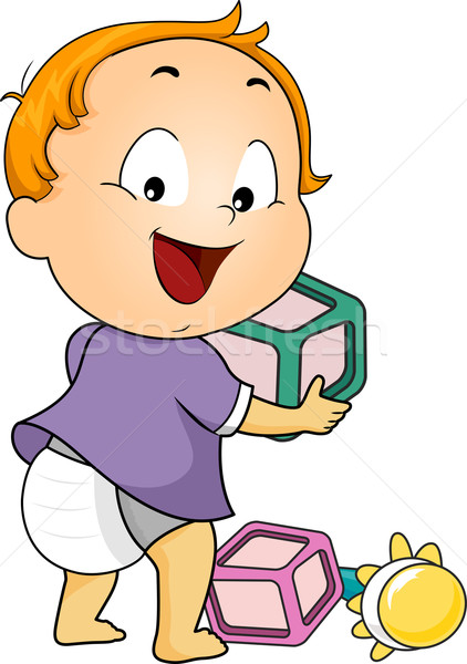Baby Toys Stock photo © lenm