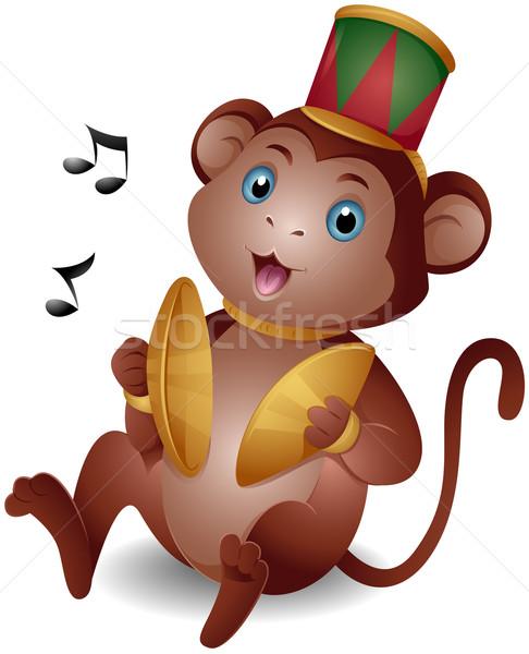 Monkey Stock photo © lenm