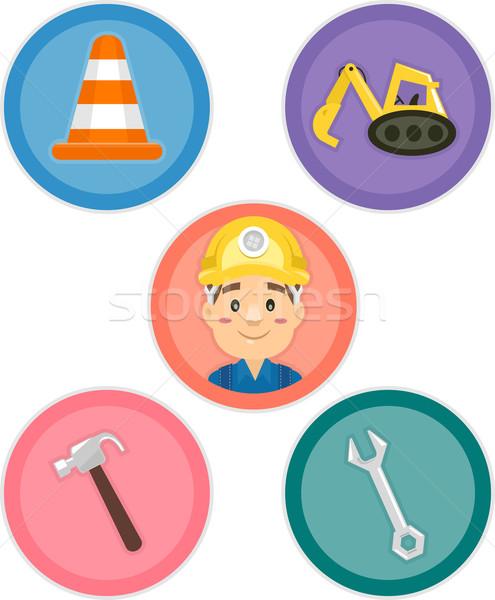 Construction Tools Stock photo © lenm