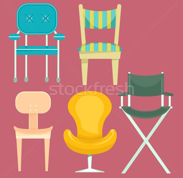 Chair Designs Stock photo © lenm