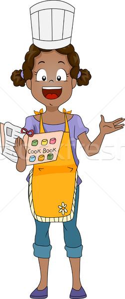 Cook Book Stock photo © lenm