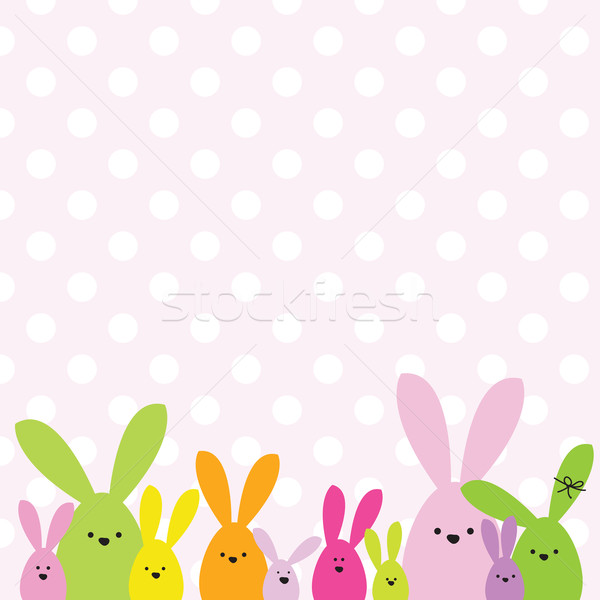 Easter card Stock photo © LeonART