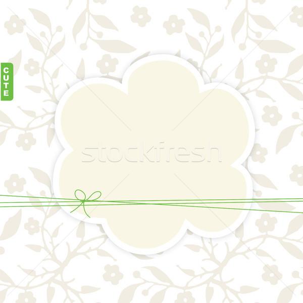 Birthday card with copy space  Stock photo © LeonART