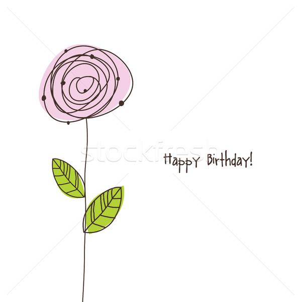 Birthday card Stock photo © LeonART
