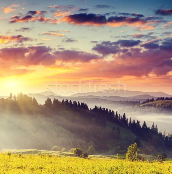 mountains landscape Stock photo © Leonidtit