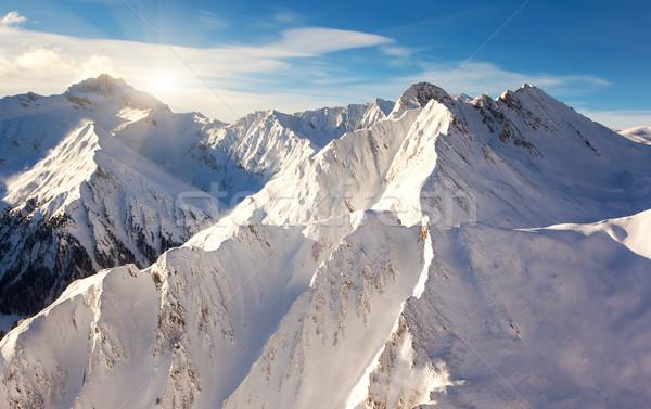 mountain landscape Stock photo © Leonidtit