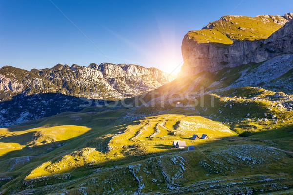 magic mountain landscape Stock photo © Leonidtit