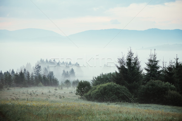Stockfoto: Pittoreske · ochtend · scène · dramatisch · plaats