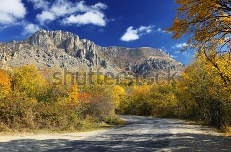 Montagne paysage belle automne jour ciel Photo stock © Leonidtit