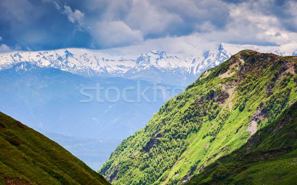 山 風景 美しい 表示 高山 ストックフォト © Leonidtit
