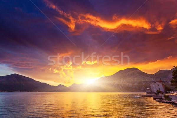 sunset Stock photo © Leonidtit