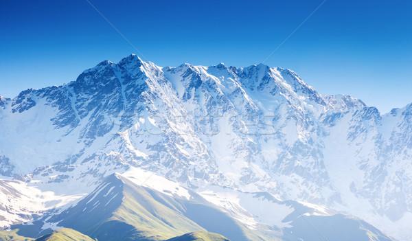 Alpesi mezők láb Grúzia Európa Kaukázus Stock fotó © Leonidtit