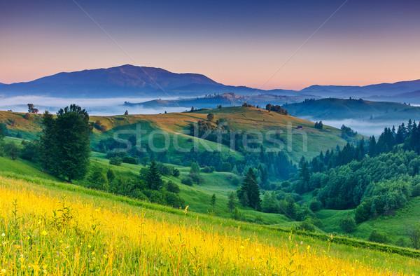 Stock photo: mountains landscape