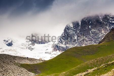 горные пейзаж альпийский драматический небе Сток-фото © Leonidtit