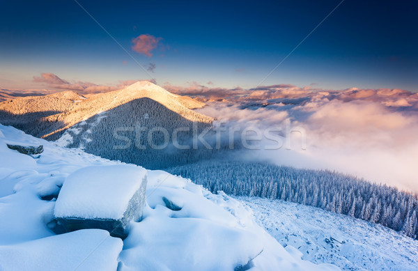 Stock photo: mountain landscape