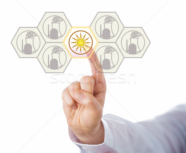 Solar Energy Leading Nuclear Phase-Out