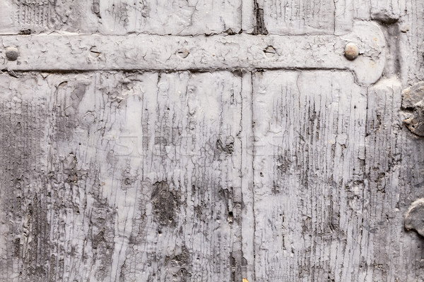 Brittle Texture Of Paint Coat On A Wooden Shutter Stock photo © leowolfert
