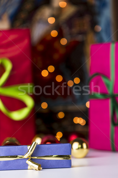 Gifts and twinkles  Stock photo © leowolfert