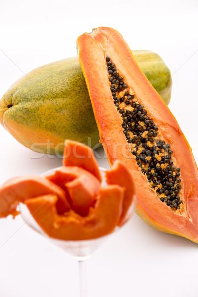 тело фрукты черный семян центральный Сток-фото © leowolfert