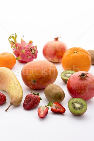 A variety of fruit Stock photo © leowolfert