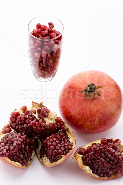 Pomegranate, Punica granatum Stock photo © leowolfert