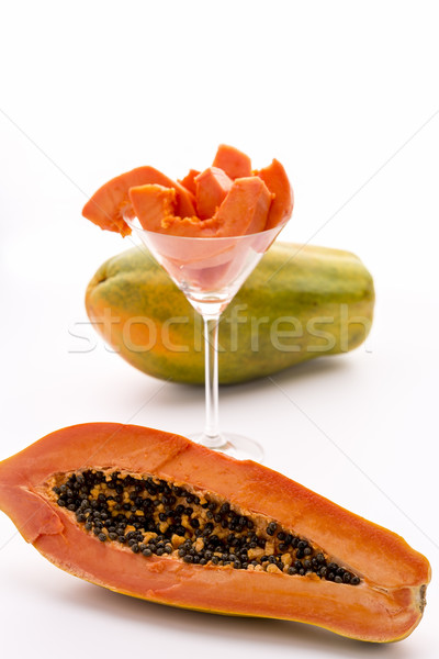 The large-fruited Papaya