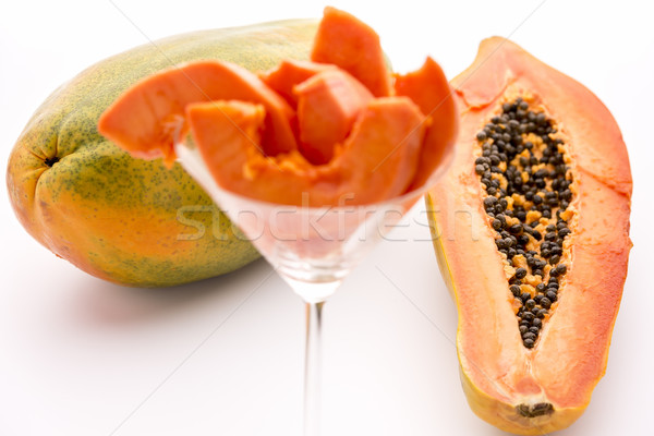Full of nutrients and papain - the Papaya