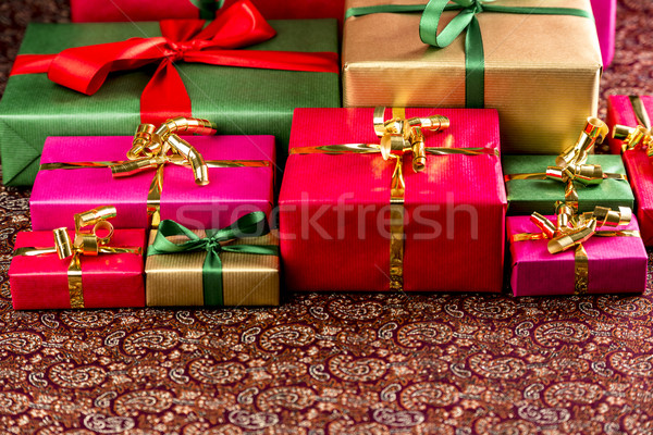 Plenty of Presents Ready to be Collected