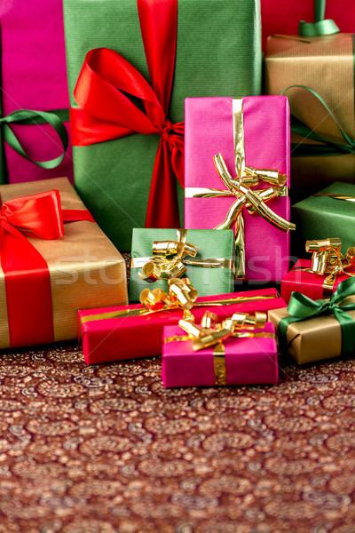 Plenty of Presents Crammed into one Shot Stock photo © leowolfert
